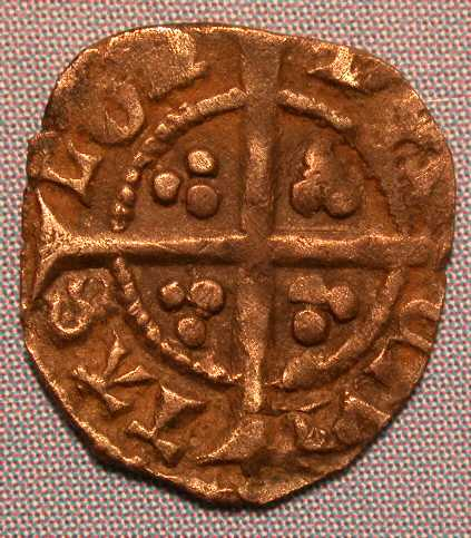 Richard II Farthing - 1d with